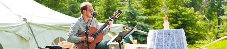 Calgary Classical Guitar Musician